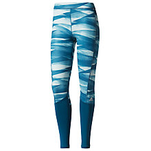 Buy Adidas Training Techfit Long Print Tights Online at johnlewis.com