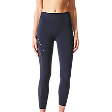Buy Adidas Warp Knit 3/4 Length Running Tights Online at johnlewis.com