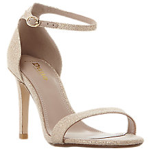 Buy Dune Wide Fit Mortimer Stiletto Heeled Sandals Online at johnlewis.com