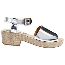 Buy Jigsaw Naya Block Heeled Sandals Online at johnlewis.com