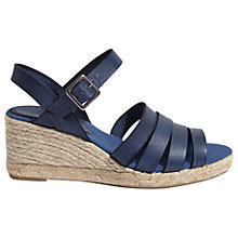 Buy Jigsaw Robyn Wedge Heeled Sandals Online at johnlewis.com