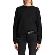 Buy AllSaints Yara Laced Jumper Online at johnlewis.com