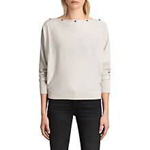 Buy AllSaints Elle Cowl Neck Jumper Online at johnlewis.com