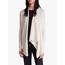 Buy AllSaints Drina Ribbed Cardigan Online at johnlewis.com