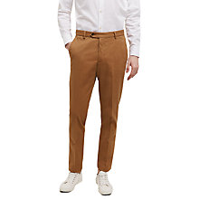 Buy Jaeger Twill Slim Chinos, Harvest Online at johnlewis.com