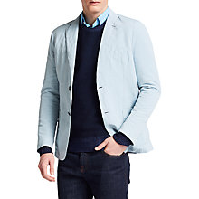 Buy Thomas Pink Maldives Linen Silk Blend Blazer, Blue Online at johnlewis.com