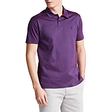 Buy Thomas Pink Armstrong Textured Classic Fit Polo Shirt, Navy/Pink Online at johnlewis.com