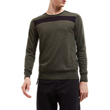 Buy Jaeger Lou Dalton Merino Crew Jumper Online at johnlewis.com