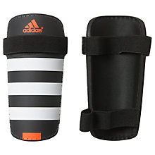 Buy Adidas Football Everlite Shin Pads, Black/White Online at johnlewis.com