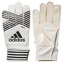 Buy Adidas Ace Junior Goalkeeper Gloves, White/Core Black Online at johnlewis.com