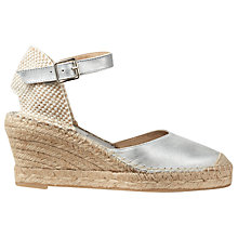 Buy Jigsaw Florrie Wedge Heeled Espadrilles Online at johnlewis.com
