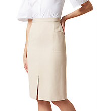 Buy Hobbs Daisy Skirt, Bone Online at johnlewis.com