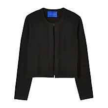 Buy Winser Chevron Detail Cardigan, Black Online at johnlewis.com