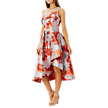 Buy Coast Aurora Jacquard Midi Dress, Multi Online at johnlewis.com