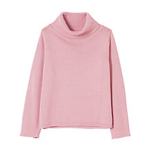 Buy Winser London Cotton Roll Neck Jumper Online at johnlewis.com