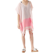 Buy Jigsaw Striped Linen-Blend Kaftan Online at johnlewis.com
