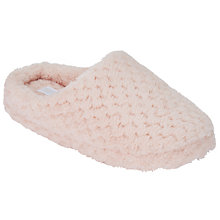 Buy John Lewis Waffle Mule Slippers Online at johnlewis.com