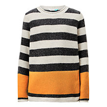 Buy John Lewis Boys' Stripe Seed Stitch Knit Jumper Online at johnlewis.com