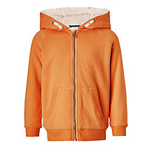 Buy John Lewis Boys' Fleece Lined Hoodie Online at johnlewis.com