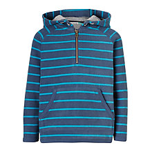 Buy John Lewis Boys' Fleece Stripe Hoodie Online at johnlewis.com