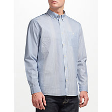 Buy JOHN LEWIS & Co. Lightweight Cotton Stripe Shirt, Blue Online at johnlewis.com
