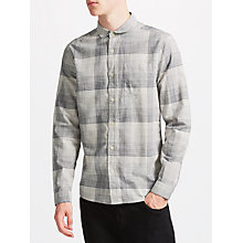 Buy Kin by John Lewis Ombre Monochrome Shirt, Grey Online at johnlewis.com