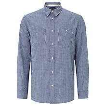 Buy JOHN LEWIS & Co. Japanese Check Shirt, Indigo Online at johnlewis.com
