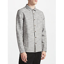 Buy Kin by John Lewis Slub Cotton Shacket, Grey Online at johnlewis.com