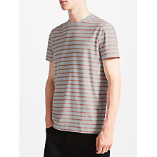 Buy Kin by John Lewis Fine Stripe Jersey T-Shirt, Ecru Online at johnlewis.com