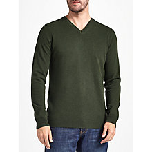 Buy John Lewis Italian Cashmere V-Neck Jumper Online at johnlewis.com