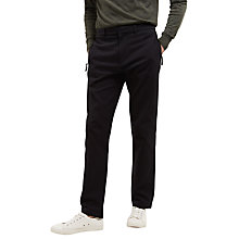 Buy Jaeger Lou Dalton Textured Trousers, Navy Online at johnlewis.com