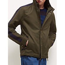 Buy Jaeger Lou Dalton Nylon Windbreaker, Khaki Online at johnlewis.com