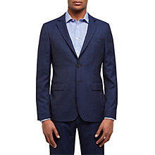 Buy Jaeger Wool Textured Slim Fit Suit Jacket, Navy Online at johnlewis.com