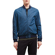Buy Jaeger Lou Dalton Baseball Jacket, Indigo Online at johnlewis.com