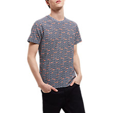 Buy Jaeger Water Tile Print T-Shirt Online at johnlewis.com