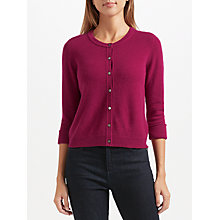 Buy John Lewis Cashmere Turn Back Cuff Cardigan Online at johnlewis.com
