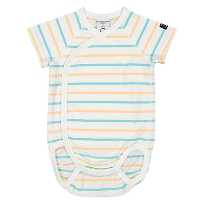 Polarn O. Pyret Baby Striped Bodysuit