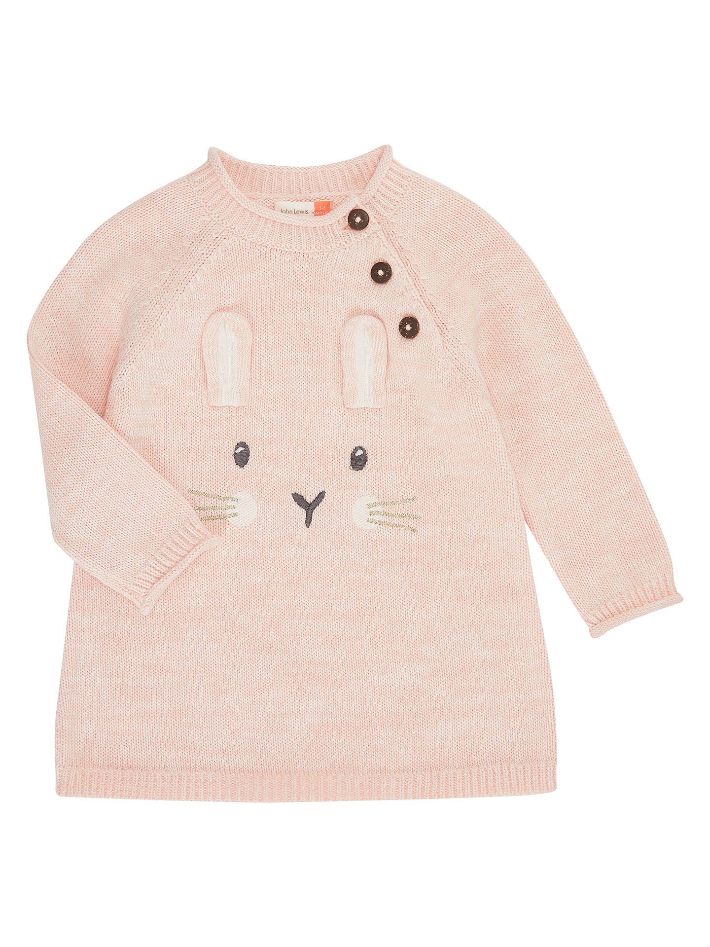 f398b6ce5a8c John Lewis Baby Bunny Jumper Dress
