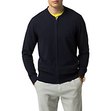Buy Tommy Hilfiger Baseball Style Cardigan, Sky Captain Online at johnlewis.com