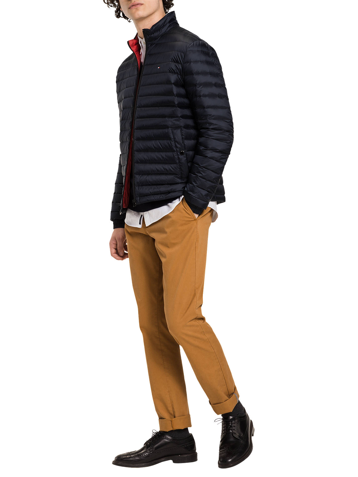 ... BuyTommy Hilfiger Packable Down Bomber Jacket a3cd9117f