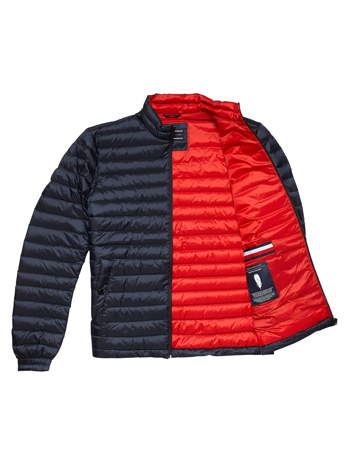 Tommy Hilfiger Men/'s Lightweight Down Quilted Packable Jacket XL