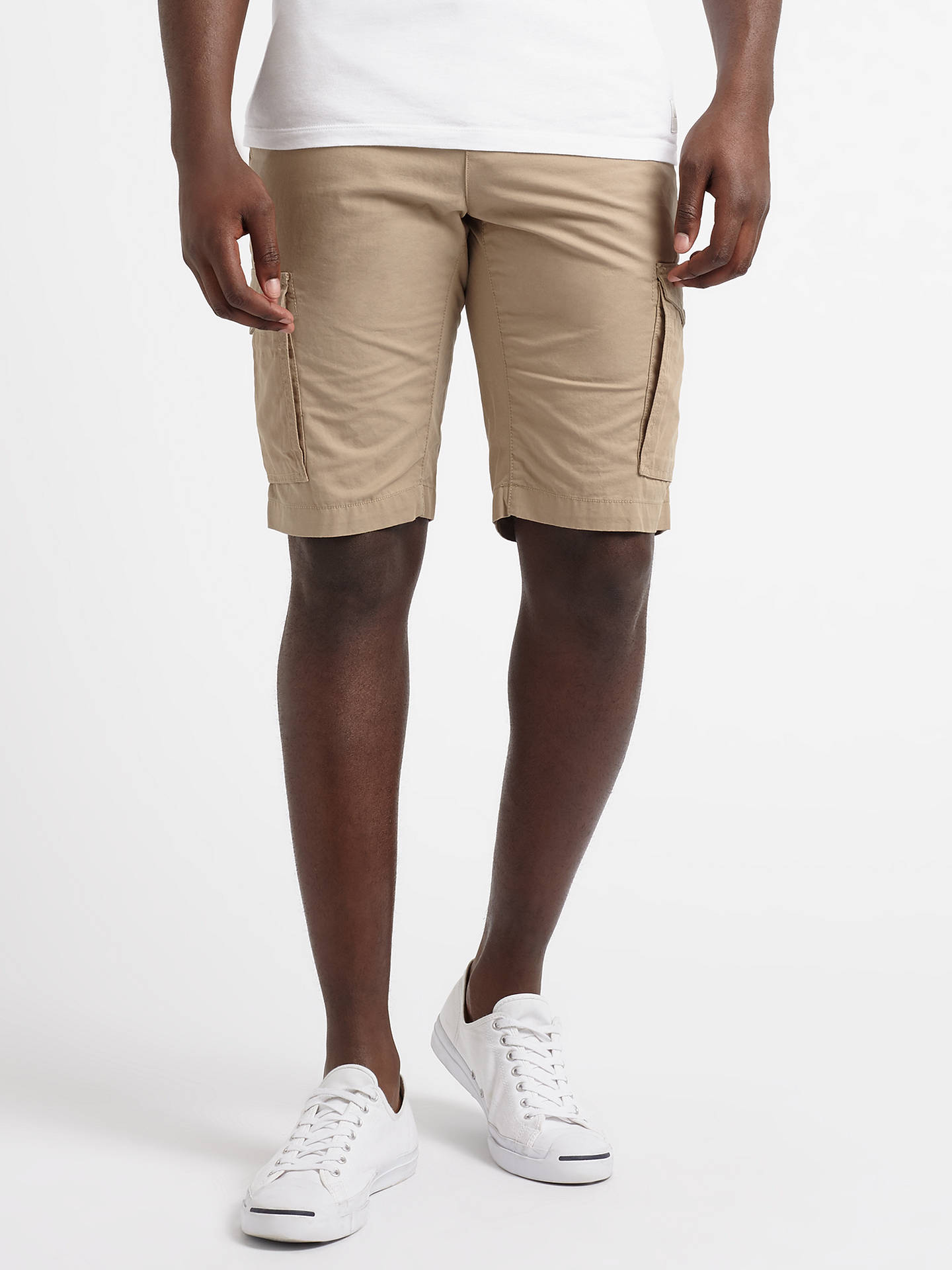 4ac23a17 Buy Tommy Hilfiger John Sort Light Twill Cargo Shorts, Batique Khaki, 30R  Online at ...