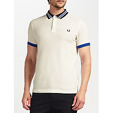 Buy Fred Perry Bomber Collar Polo Top Online at johnlewis.com
