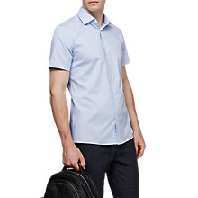 Buy Reiss Redmayne Short Sleeve Slim Fit Shirt Online at johnlewis.com