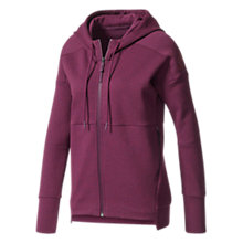 Buy Adidas Stadium Cross Training Hoodie, Red Online at johnlewis.com
