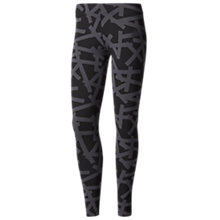 Buy Adidas Athletics Essentials Allover Print Tights Online at johnlewis.com