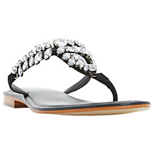 Buy Dune Nara Jewelled Toe Post Flat Sandals Online at johnlewis.com