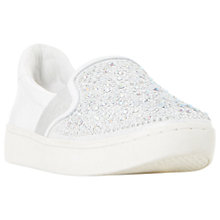 Buy Dune Eilish Embellished Slip On Trainers Online at johnlewis.com