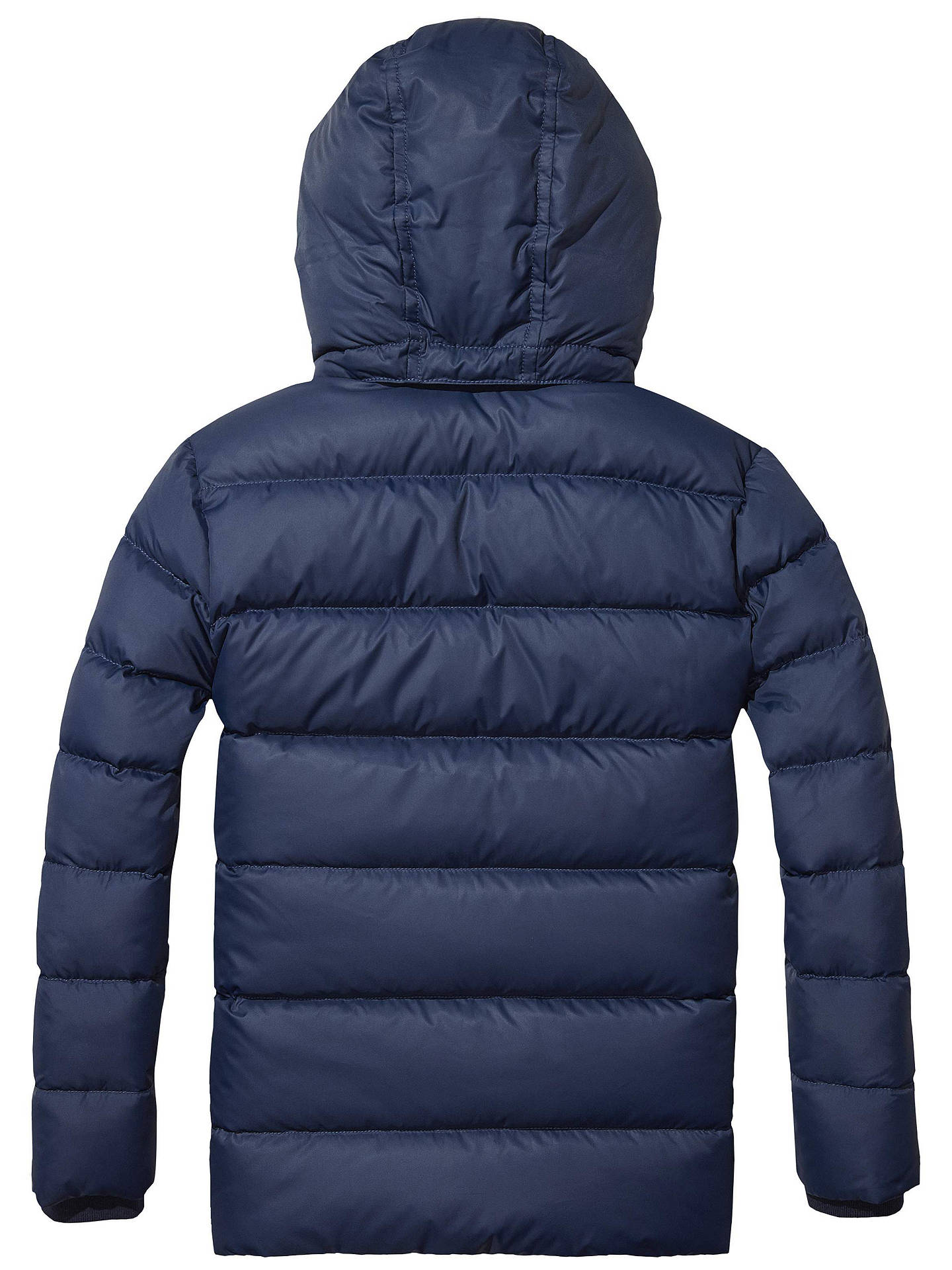 great fit 100% genuine yet not vulgar Tommy Hilfiger Boys' Quilted Jacket, Navy at John Lewis ...