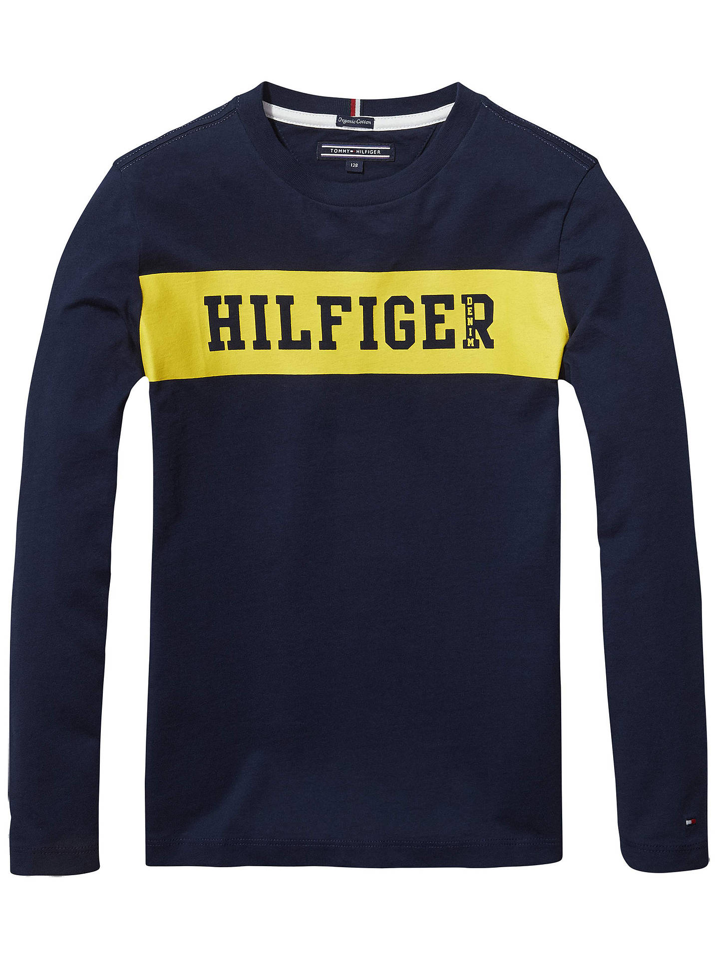 7472f44b06bb Buy Tommy Hilfiger Boys  Long Sleeve Logo T-Shirt